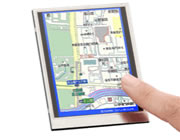 LC-Display mit Touchscreen und Scanner
